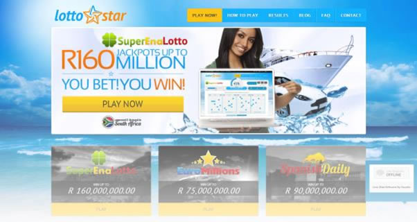 Lotto Star Website